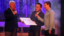 Roy joins Ant and Dec