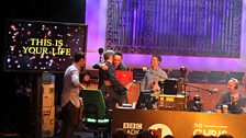 Ant and Dec present Chris with the 'Book of Life'