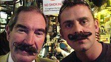 Scott in moustache shocker