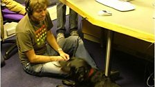 Chappers meets the amazing HypnoDog - Oct 2004
