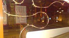 Scott turns on the Xmas lights in London - 23 Nov 07