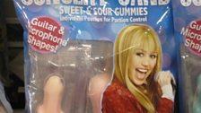 Hannah Montana Concert Candy