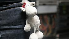 Scott's sheep keyring