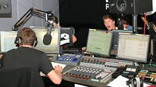This was meant to be a general 'wide shot' of the studio - not if the Hoff has anything to say about it