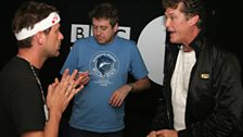Scott continues to plead with The Hoff about appearing in the movie