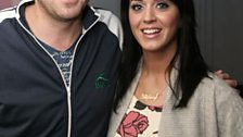 And here's Chappers' photo with Katy!