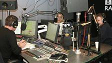 Pamela Anderson visits Radio 1 - 1