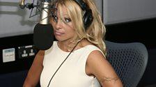 Pamela Anderson visits Radio 1 - 2