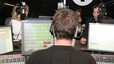 Pamela Anderson visits Radio 1 - 3