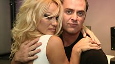 Pamela Anderson visits Radio 1 - 5
