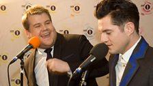 BRITs hosts James Cordon and Matthew Horne