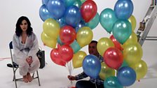 Next up, pop as many balloons as you can