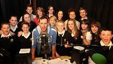 Scott and the Trinity School Choir!