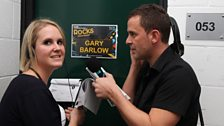 Becky and Scott looking for Gary Barlow