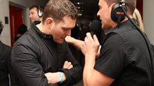 Scott finally tracked down Michael Buble