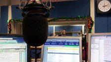 Colin in the studio