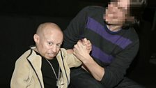Verne Troyer, with the one that doesn't speak