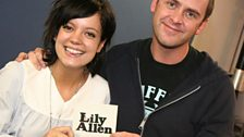 1 Dec 2008 - Lily Allen comes into see Scott Mills with her brand new single 'The Fear'