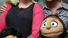 Avenue Q puppets!