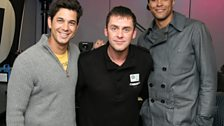 Ashley Banjo and Adam Garcia