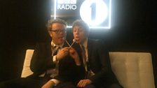 Huw and Matt share their lollies