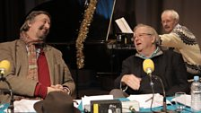 Stephen Fry and Tim Brooke-Taylor