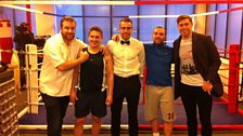 Our celebrity charity fight line-up