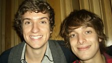 Paolo Nutini in the live lounge