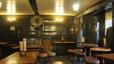 The taproom at The George Inn