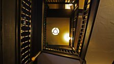 A Stairwell at The George Inn
