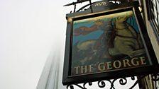 The George Inn pub sign