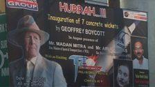 A Geoffrey Boycott poster