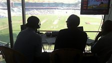TMS's view at Eden Gardens