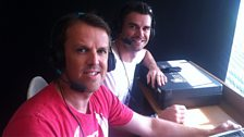 Graeme Swann and Jimmy Anderson
