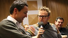 Richard Lynch a Huw Stephens