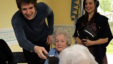 Greg and the team visit the Kingston Court Care Home, a local residential home for the elderly
