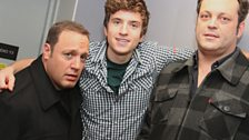 Vince Vaughn and Kevin James - 19 Jan 2011