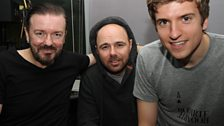 23 September 2011 - Karl Pilkington and Ricky Gervais
