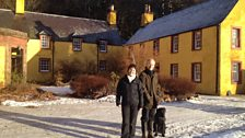 Helen Mark and Hector Maclean at Balnaboth House