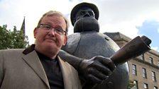 Just Dandy, Ford and Desperate Dan statue