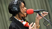 AlunaGeorge are live at Rob's Christmas special