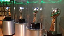 Cheeseheads: Super Bowl trophies