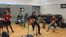 Nidi D'Arac in session for World on 3