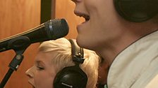 Alphabeat in the Live Lounge - 04 Jun 2008 - 6