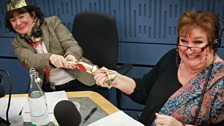 Jane Garvey and Jenni Murray present Woman's Hour Christmas Day programme.