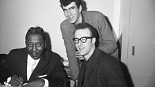 Roger Eagle with Muddy Waters and Roger Fairhurst