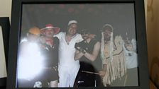 The boys dressed as The Village People