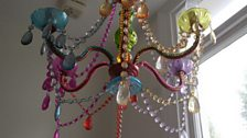 Their fabulous chandelier