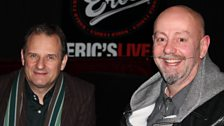 Mark Radcliffe and Dave Balfe