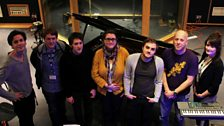 Sam and Rich (and Gemma) with Twin Falls at Maida Vale